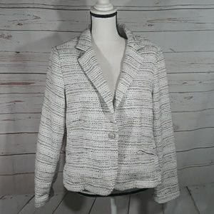 Cabi Textured blazer size 16